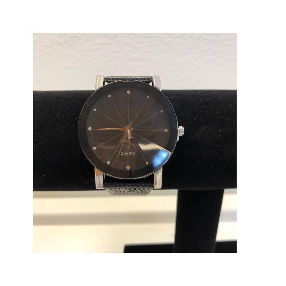 10309d4f Geneva black klokke | Celis.no - Pynt, accessories, julebutikk og mye mer