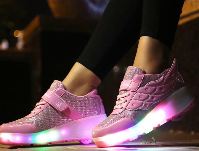 Seriøst Rullesko med LED lys! | Celis.no - Pynt, accessories, julebutikk GR-32