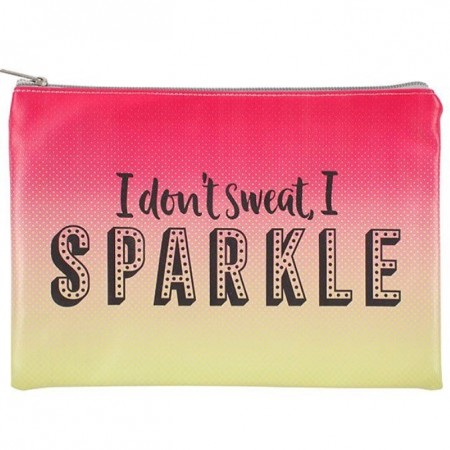 Veske «I don't sweat, I sparkle»